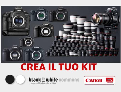 """Canon, nuova promo """"Crea il tuo kit"""""""