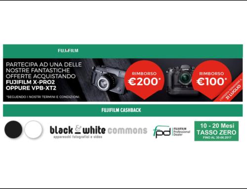 Fujifilm Cash Bach su X-PRO 2 e Impugnatura VPD-XT2