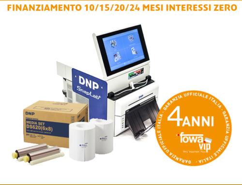 DNP: estendi la garanzia della tua stampante fino a 4 Anni con Fowa VIP Card