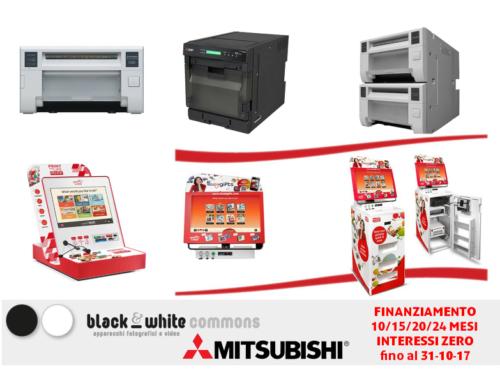 Mitsubishi, stampanti e kioski