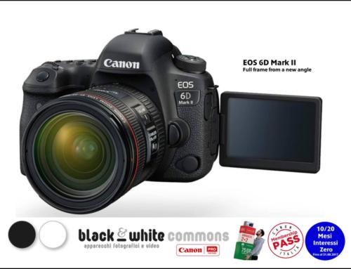 E' arrivata la nuova Canon EOS 6D MK II