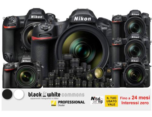 Nikon, finanziamento 10/20 mesi interessi zero
