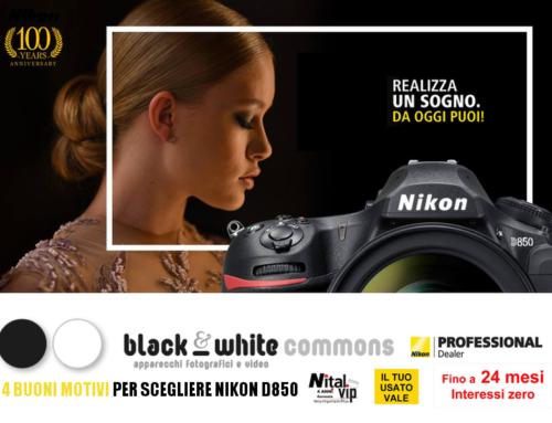 4 buoni motivi per scegliere Nikon D850