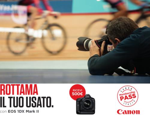 Canon EOS 1DX Mark II, rottama il tuo usato
