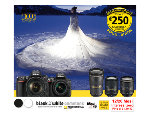 Nikon Winter cashback, ottieni un rimborso fino a 250 euro