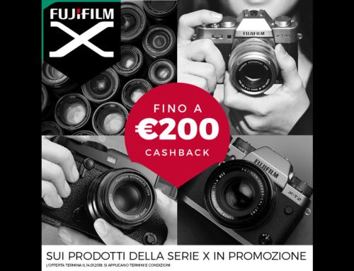 Cash back Fujifilm, rimborso fino a € 200,00