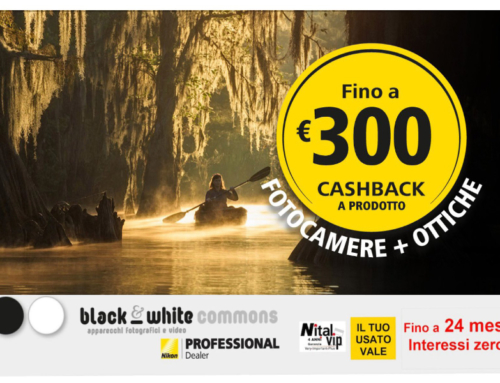 Nikon cashback, ottieni un rimborso fino a 300 euro