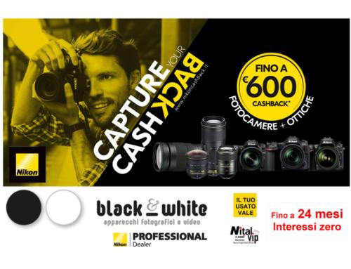 Nikon Capture Cashback, fino a 600 euro di rimborso